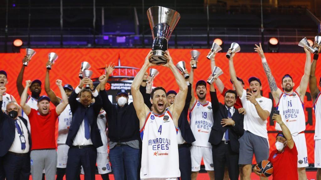 Anadolu Efes je novi prvak Evrolige