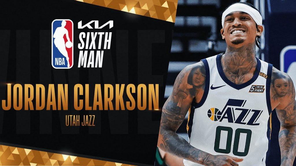 Jordan Clarkson z nagrado za šestega igralca leta