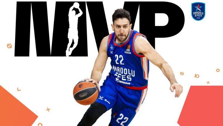 Vasilije Micić je postal MVP Evrolige