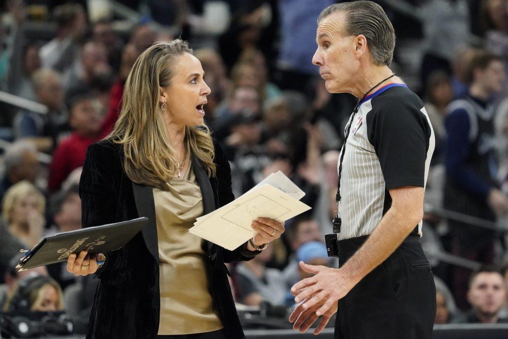Becky Hammon bi lahko kaj kmalu postala glavna trenerka v ligi NBA
