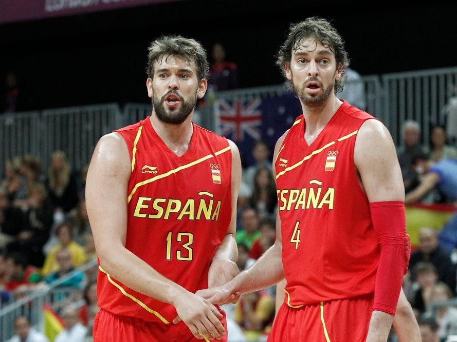 Španskih dvanajst za olimpijske igre