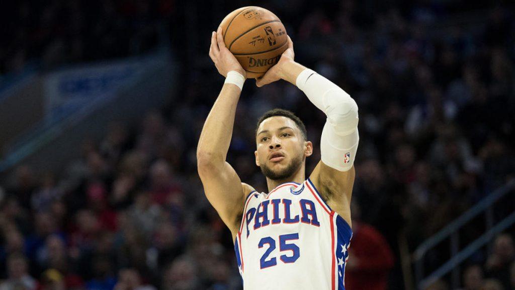 Ben Simmons se je vrnil k 76ersem