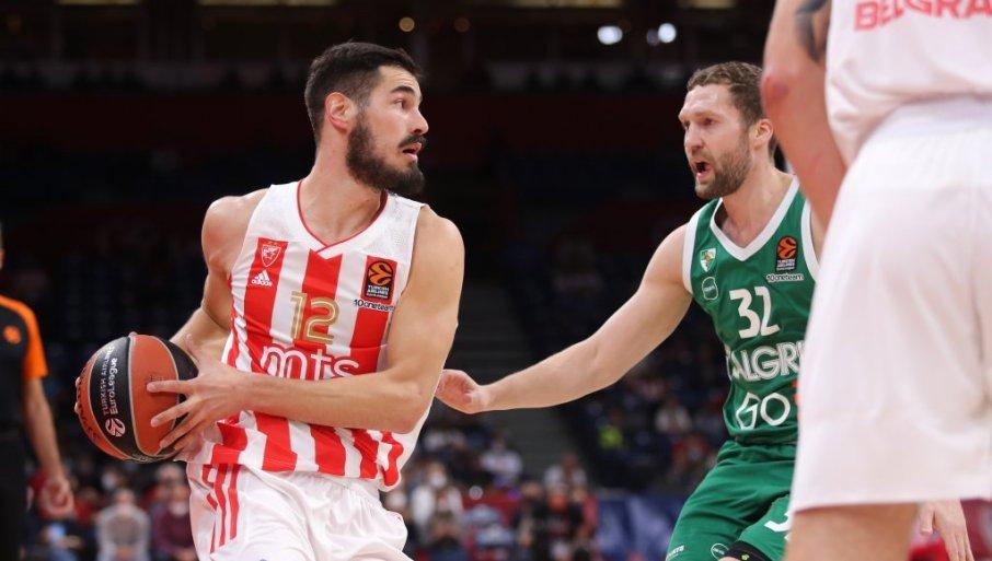 Nikola Kalinić Crveno zvezdo popeljal do zmage nad Žalgirisom